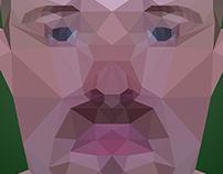 Low-Poly Portrait