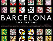 Barcelona, Havana and Puerto Rico Tile Designs