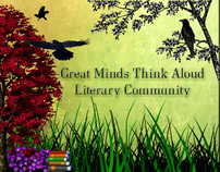 Great Minds Think Aloud Literary Community