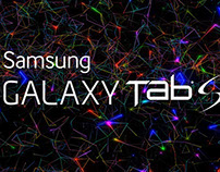 Samsung Tab S - Projection Mapping