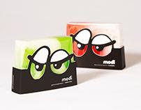 Разработка упаковки линейки мыла специально для MODI