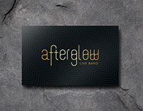 Afterglow - Branding and Font design