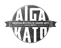 AIGA Mankato Logo/Branding