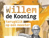 Poster - Willem de Kooning exhibition