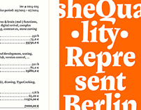 Shequalin | typeface