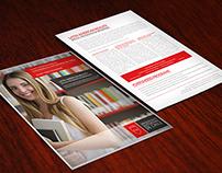 Flyer Universidad Autonoma. Cursos Especiales