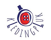 """logo """"kledingpluk"""""""