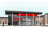 Huntley High School Project (Wold Architects)
