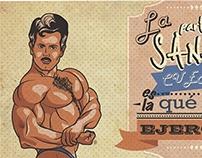 ilustración gym