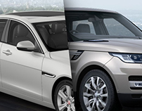 Jaguar / Land Rover Configurator