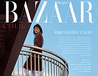 """COSTUME DRAMA"" for Harper's Bazaar Kazakhstan"
