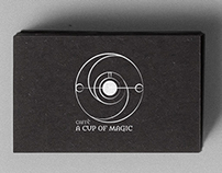 A Cup of Magic caffé  -   logo/logotype