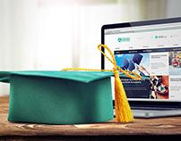 Tischner European University - webdesign