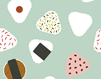 Pattern of ONIGIRI
