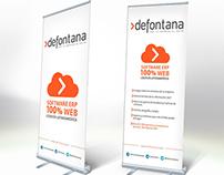 Pendones para Defontana. Software ERP