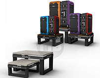 Pelican ProGear Luggage Nesting Tables
