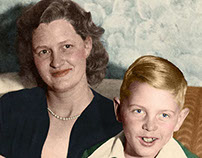 Late 1940's Family Portrait
