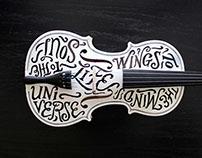 TypeLimited 001: Plato (Perhaps), Debussy, & A Violin.