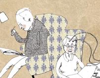 future healh care / editorial illustrations