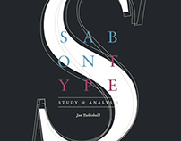 Editorial | Sabon Type - Study & Analysis