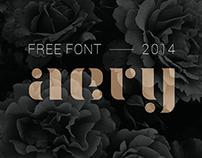 AERY (free font)