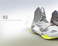 Neo: Basketball shoe
