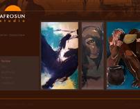 AFROSUN Studio Website