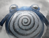 Peruvian Artists Pokedex Project - #061 Poliwhirl