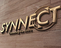 Synnect Logo, Signage and Stationary