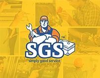 SGS branding