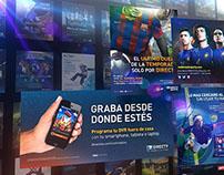 Placas Directv Sports