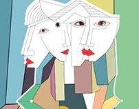 Cubist Art Gallery  Corporate ID