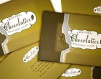 MAITRE CHOCOLATIER  (Visual Identity Application)