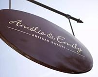 Branding: Amélie & Emily, Artisan Bakery