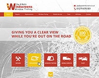 Windscreen Repairs - Web Design