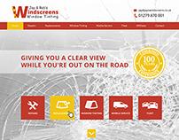 Windscreen Repairs - Web Design