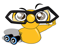 Mr. Nosy Animated Stickers