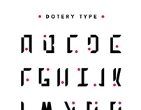 Typography / Dotery type