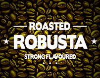 ROBUSTA COFFEE Concept