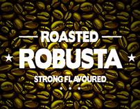 ROBUSTA COFFEE Concept