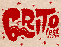 Music poster - Grito Fest 2014