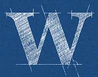 Blueprint Alphabet