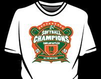 FAMU Softball Championship Shirt