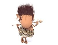 Caveman-character study