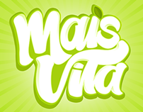 Proposal Lettering Logo - Mais Vita Juice - Yoki