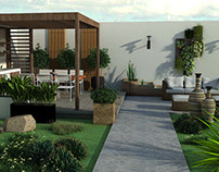 Área social exterior | Architecture