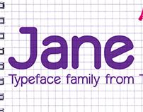 Jane typeface