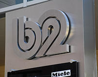 B2 - Internal and external signage