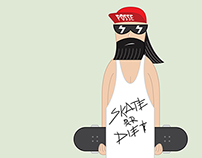 Skate or Die (Illustration).