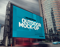 Animated Outdoor AD Mock-up's
